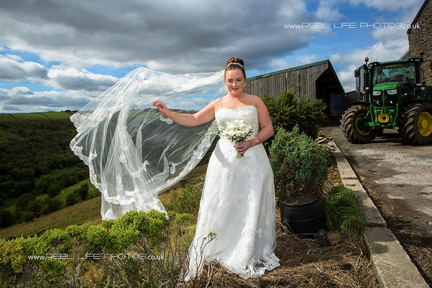 Yorkshire Wedding Photographers In West