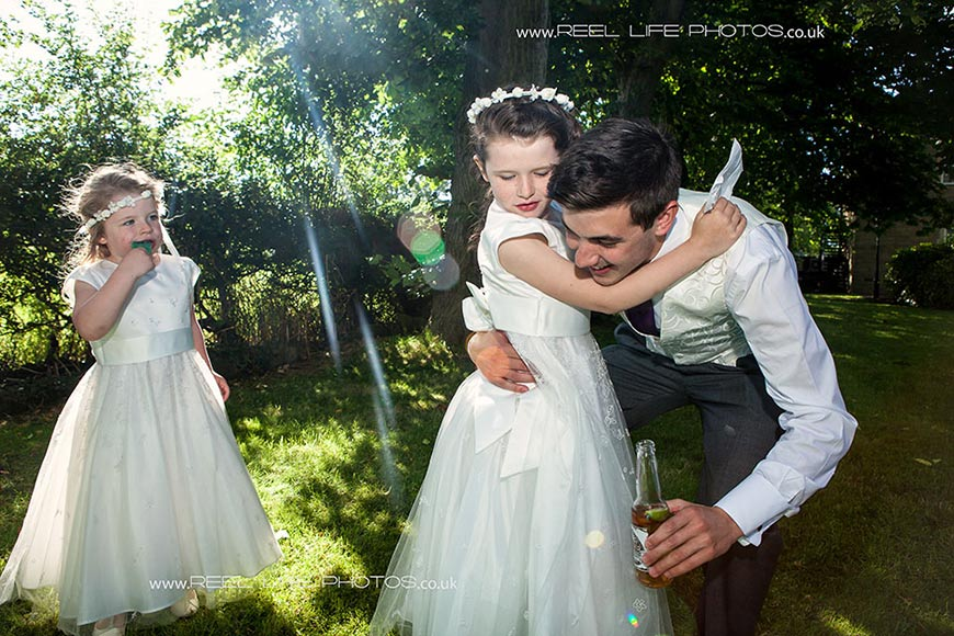 natural wedding photography near Bradford and Leeds